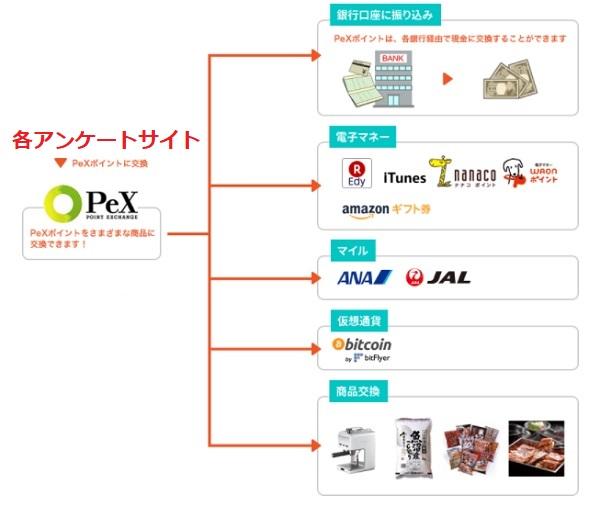 Pex交換